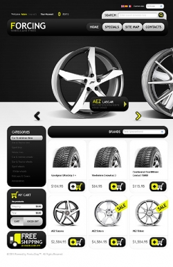 Tyres Web Templates